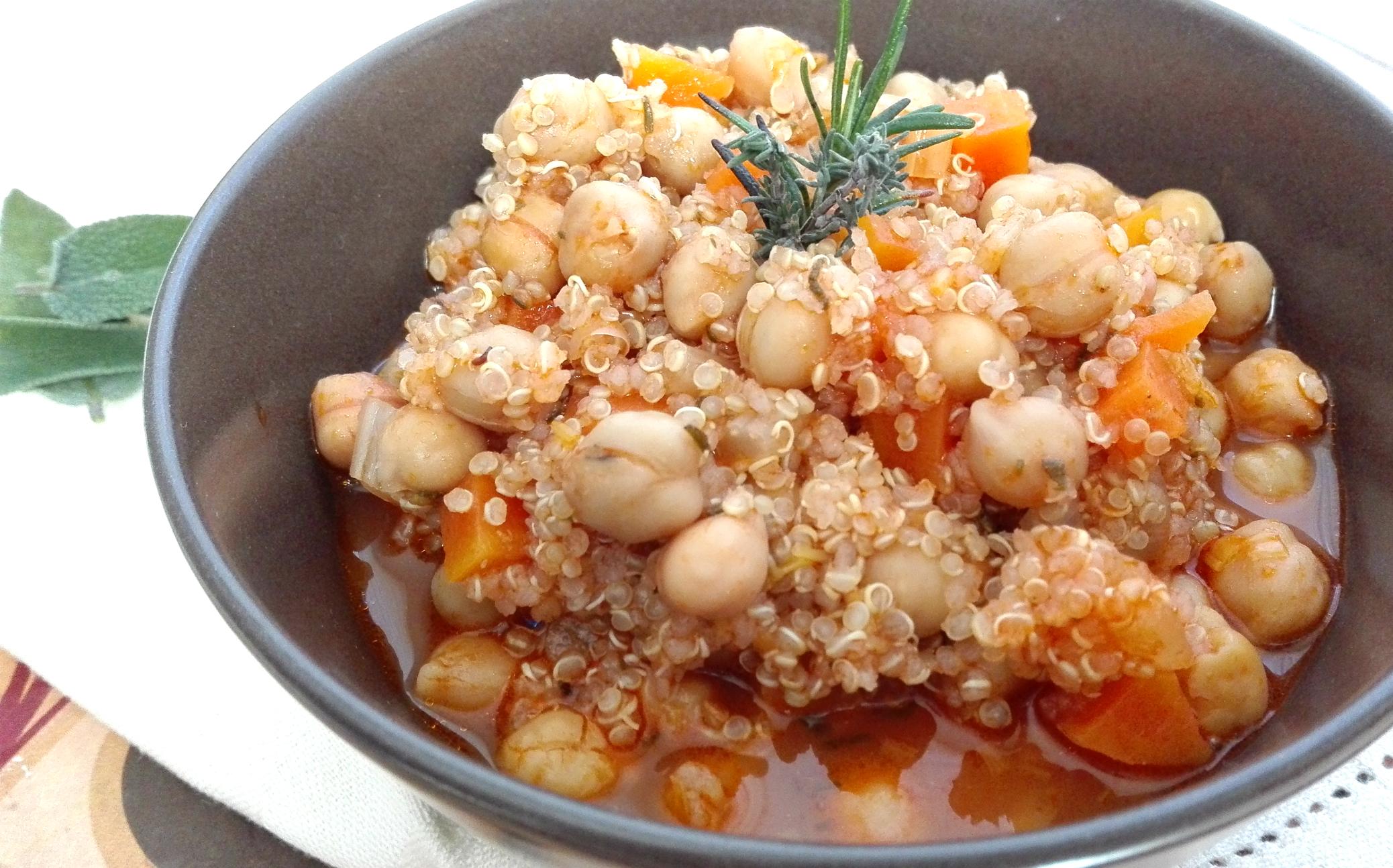 zuppa ceci quinoa 1