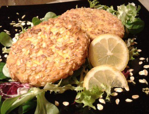 Burger croccanti di pesce
