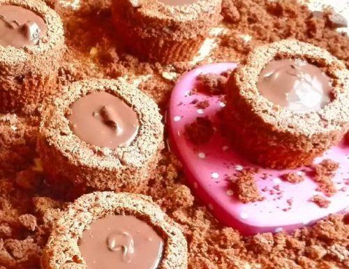 Tortini ripieni di Nutella
