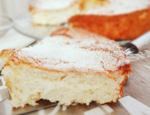 Angel Cake al profumo di limone