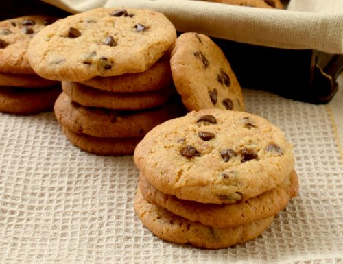 Cookies al latte condensato e noci pecan