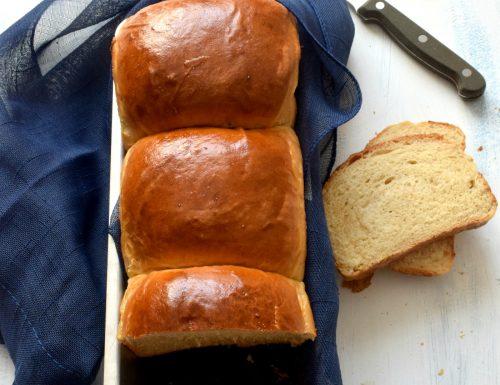 Pan Brioche al latte e yogurt(Hokkaido Milk Bread)