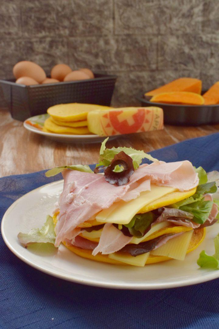 Pancakes alla zucca (alternativo sandwich)