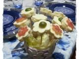 Fiorellini di pan carrè ricetta A pummarola 'ncoppa