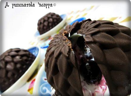 Fiori di cioccolato ripieni