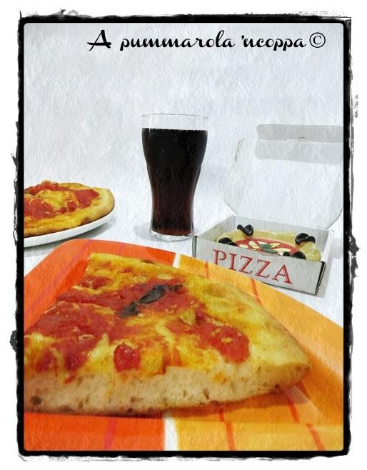 Pizza veloce con pomodoro mais panna focaccia olio ricetta blog A pummariola 'ncoppa napoletana