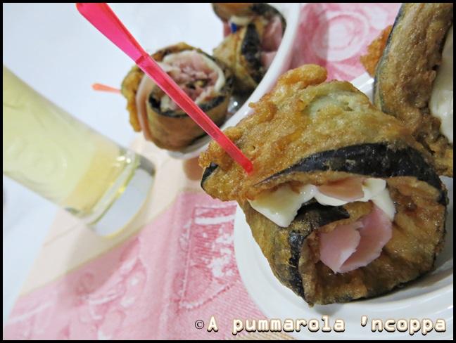 girelle di melanzane ricetta A pummarola 'ncoppa