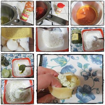 Conchiglioni ricetta A pummarola 'ncoppa