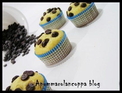 Dolcetti soffici con gocce di cioccolato