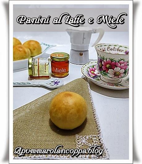 panini al latte e miele