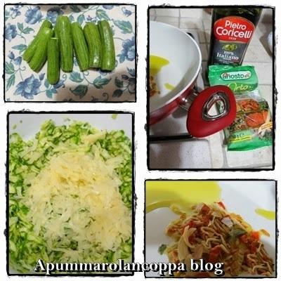 Sformato di zucchine 4 ricetta A pummarola 'ncoppa