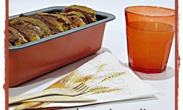 Tortino di pane svuotafrigo e salvacena