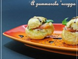 Bignè salati ricotta e salmone foto 42