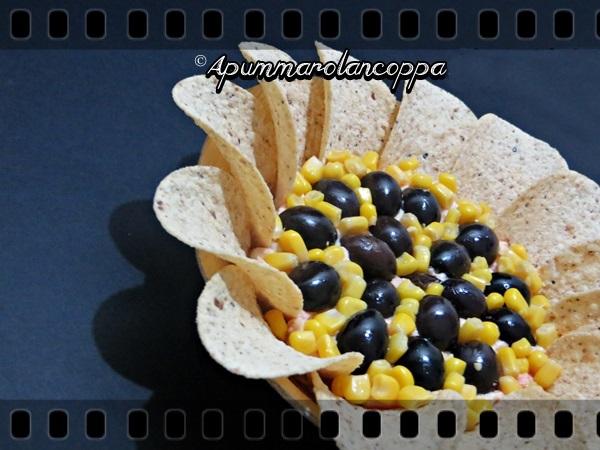 Fiore salato con pringles foto 3