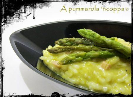 Risotto agli asparagi e gorgonzola