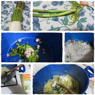 Risotto agli asparagi ricetta A pummarola 'ncoppa