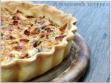 Crostata con prosciutto formaggio e funghi ricetta A pummarola 'ncoppa