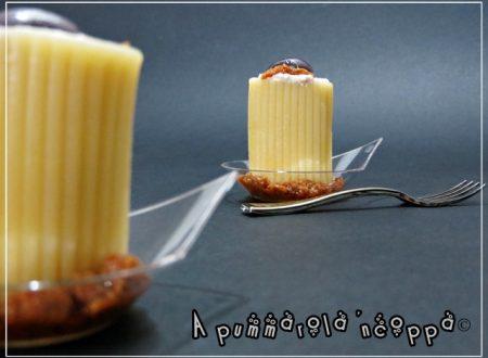 Paccheri freddi finger food