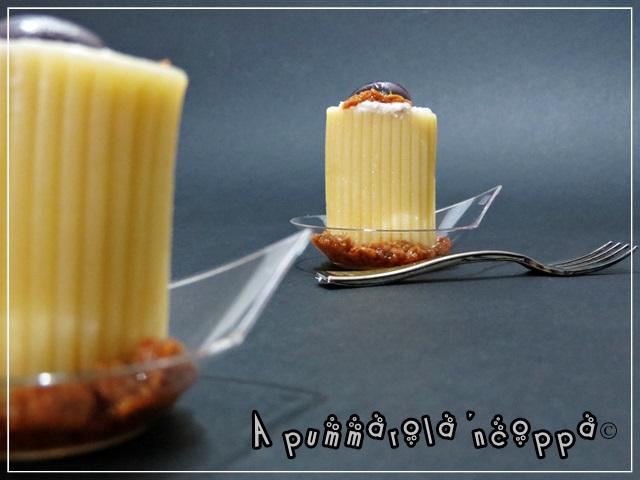 Paccheri freddi finger food ricetta A pummarola 'ncoppa