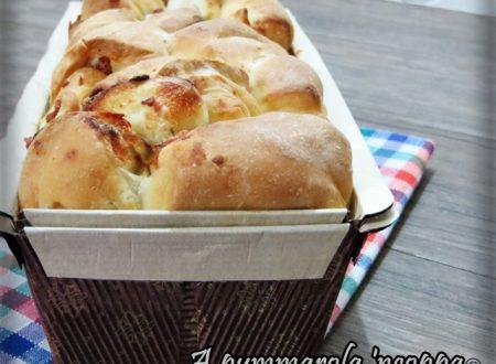 Plumcake salato con salame e gorgonzola
