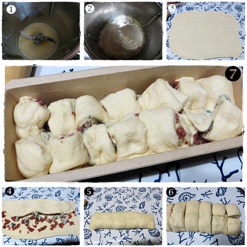 Plumcake salato salame e gorgonzola ricetta A pummarola 'ncoppa