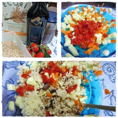 Insalata di riso, farro e orzo ricetta A pummarola 'ncoppa