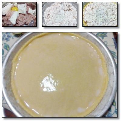Rustico napoletano ricotta e salame ricetta A pummarola 'ncoppa