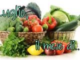 luglio il mese di....stagionalità di frutta e verdura ricetta A pummarola 'ncoppa