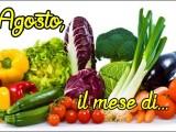 Agosto il mese di stagionalità di frutta e verdura ricetta A pummarola ncoppa blog cucina