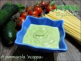 Crema di zucchine, ricotta, pinoli e formaggio ricetta A pumamrola 'ncoppa