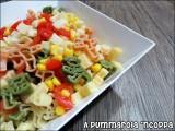 Pasta fredda con verdure e ingrediente segreto per bimbi ricetta A pumamrola 'ncoppa
