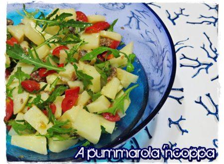Insalata di patate e verdure