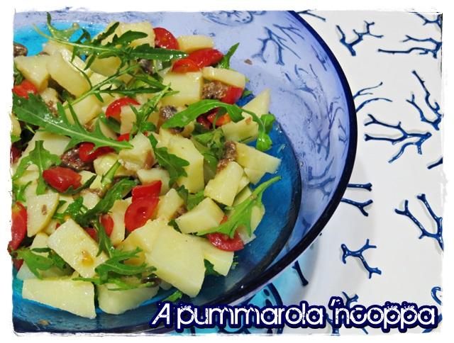 Insalata di patate e verdure ricetta A pummarola 'ncoppa blog cucina
