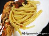 Linguine agli scampi spaghetti pomodori come preparare ricetta A pummarola ncoppa blog cucina