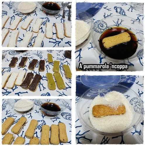 Pavesini mascarpone nutella e cocco ricetta blog cucina A pummarola 'ncoppa