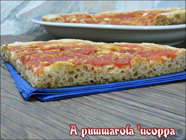 Pizza integrale senza impasto ricetta blog giallo zafferano A pummarola ncoppa