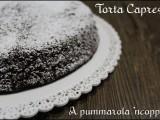 Torta Caprese alle mandorle cioccolato ricetta blog giallo zafferano cucina A pummarola 'ncoppa ricetta regionale tipica campania