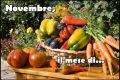 Novembre, il mese di...