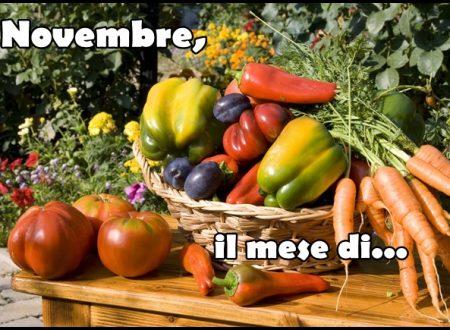 Novembre, il mese di…