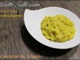 Risotto zafferano gorgonzola e mascarpone ricetta blog cucina giallo zafferano a pummarola 'ncoppa