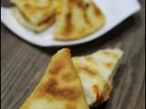 Triangolini di pizza in padella ricetta blog cucina giallo zafferano a pummarola ncoppa pomodoro bimby pizza in padella