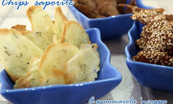 Chips saporite senza glutine
