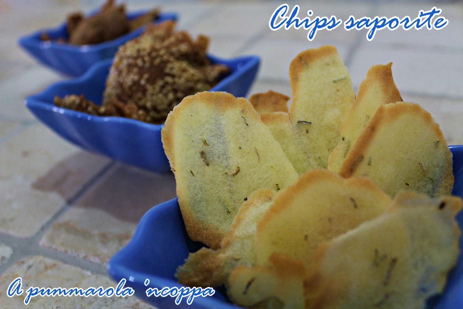 chips senza glutine con farina di riso farina di sorgo farina di piselli giallo zafferano blog a pummarola ncoppa