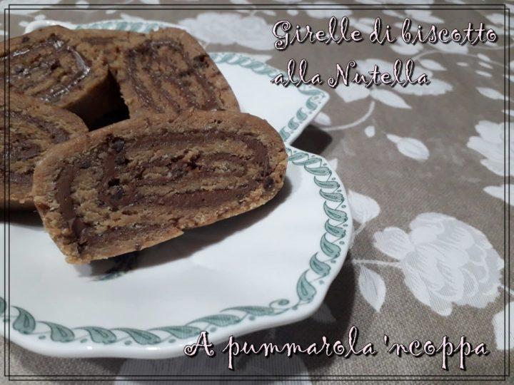 girelle di biscotto senza cottura alla nutella o marmellata