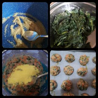 polpette di amaranto e verdure ricetta giallo zafferano blog a pumamrola ncoppa