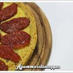 Cheesecake salata con pomodorini e olive