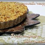 Torta rustica veloce alle nocciole
