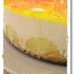 Bavarese, torta fredda al limone