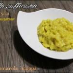 Risotto zafferano, gorgonzola e mascarpone