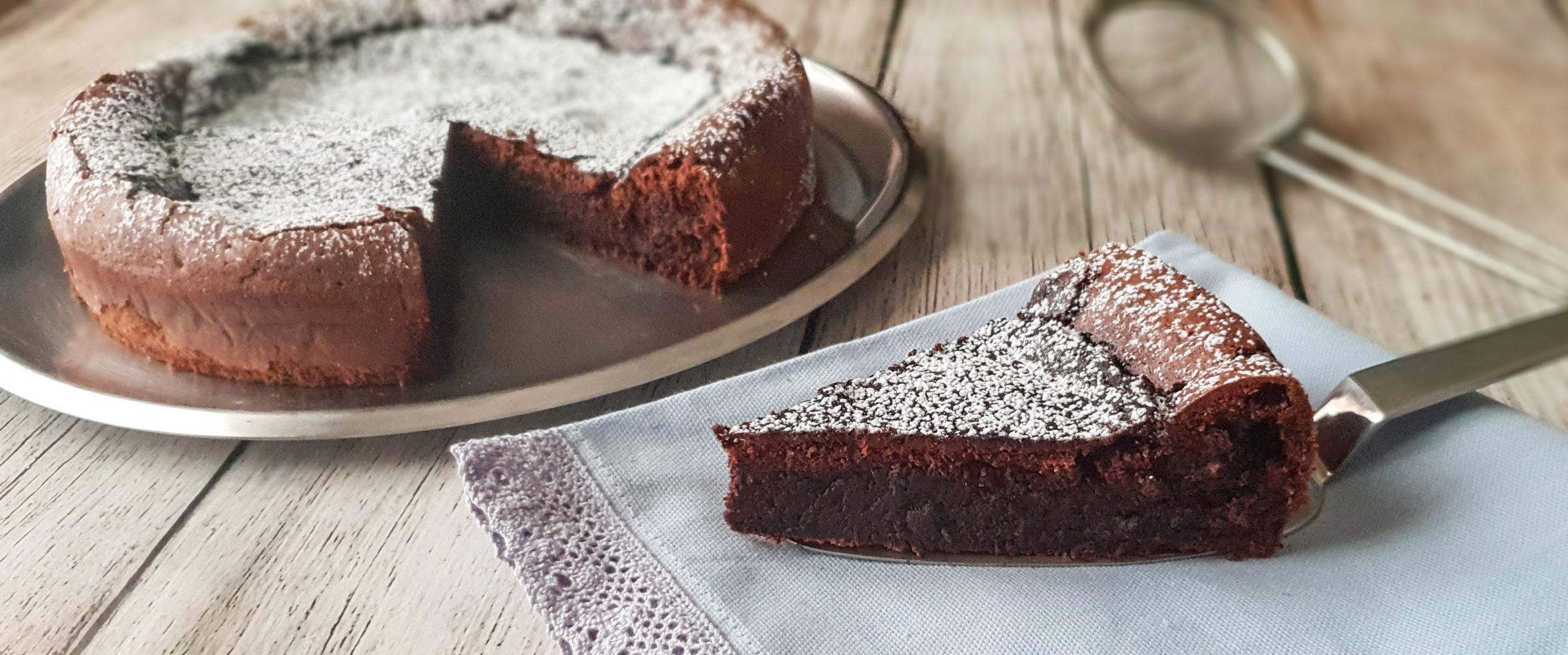 torta al cioccolato all'olio di oliva